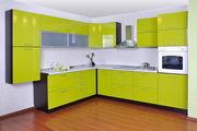 Кухня грейд цвет лимон глянец