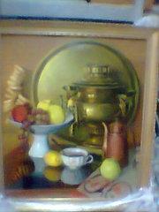 Продам картину маслом на холсте размером 50х60 в деревянной раме.Автор