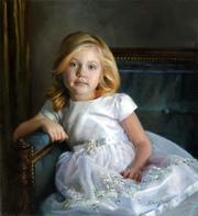 Детский портрет маслом,  написание портретов маслом Киев