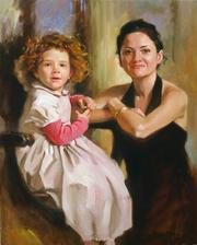 Семейный портрет маслом по фотографии Киев