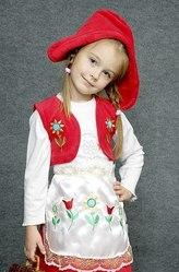 Детский карнавальный костюм Красная шапочка - прокат