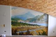 Классический дизайн интерьера Художественная роспись стен КИЕВ