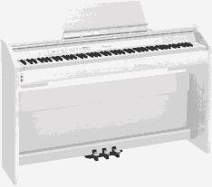Электро фортепиано CASIO PRIVIA PX-850WE белого цвета в Киеве