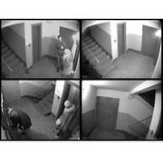 Видеонаблюдение за лестничной площадкой