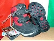 Ботинки демисезонные детские кожаные Timberland Gore-Tex оригинал из И