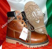 Ботинки детские кожаные фирмы M-KIDS производство Италия