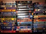 Видеокассеты ,  б/у - фильмы,  музыка
