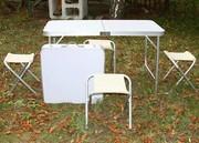 Столы для кемпинга.