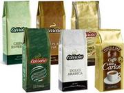 Кофе в зернах Carraro,  Lavazza,  Covim,  Musetti