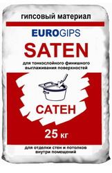 Шпаклевка Сатенгипс Satengips Eurogips