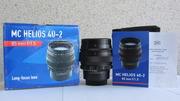 ПРОДАМ ОБЪЕКТИВ МС ГЕЛИОС-40-2-H Black 1, 5/85 под  Nikon.В КОРОБКЕ !!! №130739.НОВЫЙ !!!