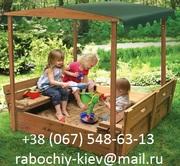 Деревянная песочница «Артемон» для детей