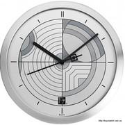 Настенные часы в металлическом корпусе BULOVA C3336 цена 1067