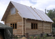 Строительство деревянных бань.  саун