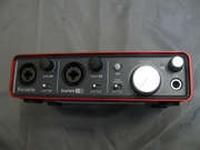 Продам звуковую карту Focusrite Scarlett 2i2 (новая!)