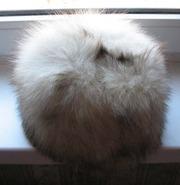 Продам зимнюю женскую шапку из натуральной овчины