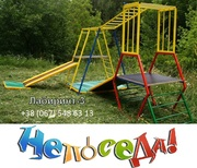 Игровой разборной металлический детский комплекс Лабиринт-3 для дома