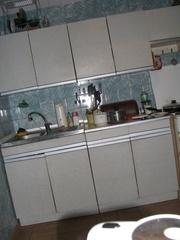 Отдаю даром: кухня Золушка (нержав. мойка в подарок)   + эл. плита