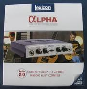 Продам звуковую карту Lexicon Alpha STUDIO (новая!)