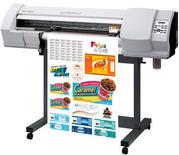 Широкоформатный печатный/режущий плоттер Roland SP-300V б/у