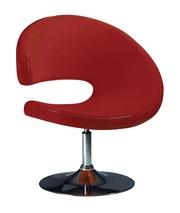Кресло ОпортО,  ткань велюр,  ткань красная