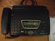 Факсимильный аппарат Panasonic  КХ-FT76 в рабочем состоянии.