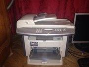 МФУ (принтер,  сканер,  ксерокс) hp laserjet 3052