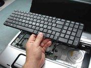 Ремонт клавиатуры ноутбука-замена клавиатуры в ноутбуке .