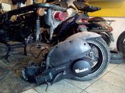 Двигатель б/у на скутер 150сс (Китай) с обвесом