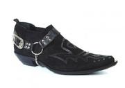 Казаки Etor мужские туфли замшевые на кожаной подошве.Стиль.