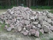 Продам куплю Камень бут ( серый,  красный) Киев область