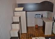 Детская двухъярусная кровать+шкаф+стол,  кровать-чердак