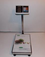Продам новые электронные весы на 150 кг. с калькулятором