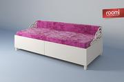 Детская кровать для девочки. Детская мебель,  дизайн детской от Roomi
