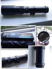 Мануальные 400мм,  500мм для Canon,  Nikon,  Pentax,  Sony,  M42