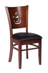 Амбер, стул Амбер, деревянный стул Амбер, кухонный стул Амбер, Domini Амбе