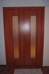 Продам ламинированные межкомнатные двери «ольха»,