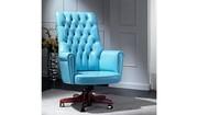 ВИП кресло OSKAR Италия изящное кресло с высокой спинкой для дома и офиса