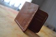 BRIZ портмоне из кожи ручной работы (Brown)