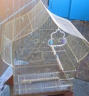 Срочно продам! Клетки для попугаев и певчих птиц!