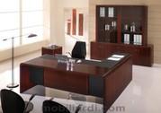 VIP кабинет Ovalino (Италия). Офисная мебель для руководителя.