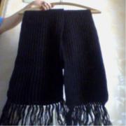 шарфы вязанные длинные