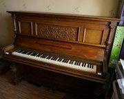 Пианино Блютнер приблизительно 1900 года