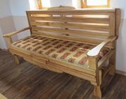 Стильный дубовый диван
