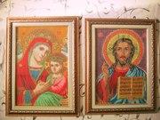 иконы казанская и исус