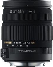 SIGMA AF 18-50 mm f/2.8-4.5 DC OS HSM для Canon Б/У