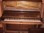 Продам пианино C.Rich. Ritter. Halle