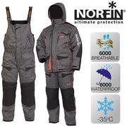 Kостюм зимний NORFIN DISCOVERY GRAY NEW (-35°) + два комплекта термобе