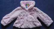 Шубка детская розовая Aisijiali