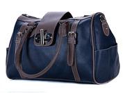 Мега-модная сумка-саквояж изготовлена из прочного материала